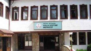 Ankara Beypazarı Halk Eğitim Merkezi