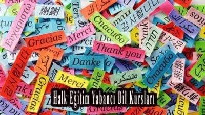 Halk Eğitim Yabancı Dil Kursları