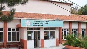 Tekirdağ Çerkezköy Halk Eğitim Merkezi Müdürlüğü