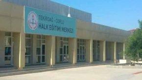 Tekirdağ Çorlu Halk Eğitim Merkezi Müdürlüğü