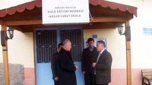 Ankara Kalecik Halk Eğitim Merkezi Ve Akşam Sanat Okulu