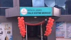 Antalya Kemer Halk Eğitim Merkezi Müdürlüğü