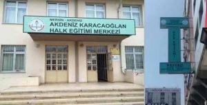 Mersin Akdeniz Karacaoğlan Halk Eğitim Merkezi