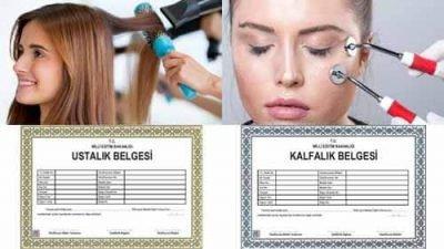 Güzellik Ve Saç Bakım Hizmetleri Kafalık Ustalık Uygulama Sınavı
