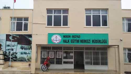 Mersin Bozyazı Halk Eğitim Merkezi Kursları