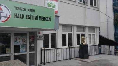 Trabzon Arsin Halk Eğitim Merkezi Kursları