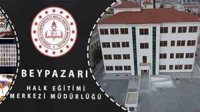 Beypazarı Halk Eğitim Merkezi Müdürlüğü Kursları