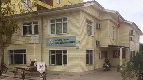 Demre Halk Eğitim Merkezi Müdürlüğü
