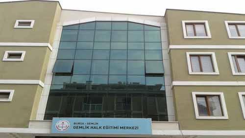 Gemlik Halk Eğitim Merkezi Müdürlüğü Kursları