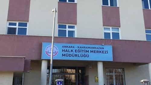 Ankara Kahramankazan Halk Eğitim Kurs Kayıtları