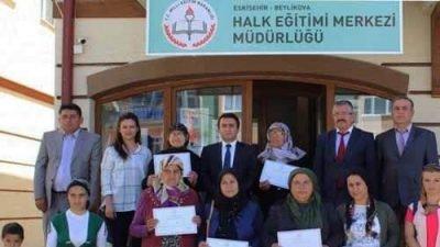 Eskişehir Beylikova Halk Eğitim Açılan Kurslar